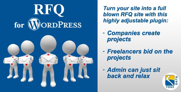 RFQ for Wordpress - AWESOME TOGI Plugins